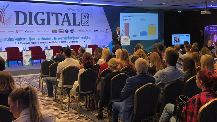 Konferencija o digitalnom poslovanju DIGITAL 2018