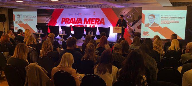 """Partneri iz Advokatske kancelarije """"Cvjetićanin&Partners"""" su prisustvovali konferenciji o medijima pod nazivom """"Prava mera medija"""""""