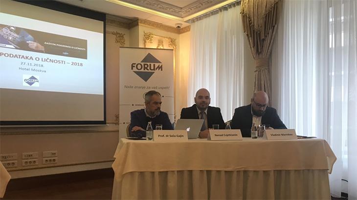 Fotografije sa nedavno održane Konferencije o zaštiti podataka o ličnosti u hotelu Moskva u Beogradu