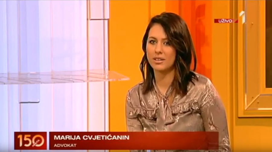 Advokat Marija Cvjetićanin na TV PRVA o zaštiti državine