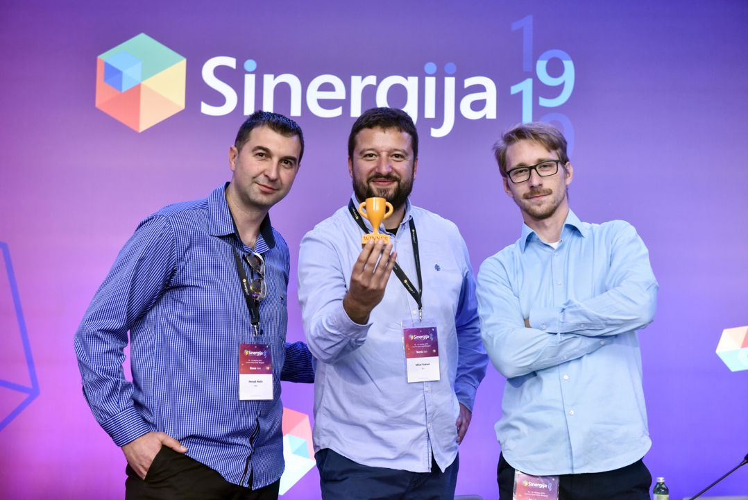 """AVS SOLUTONS was awarded with First place of Microsoft """"SINERGIJA 2019"""" IT Challenge"""