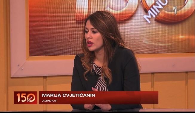 Advokatica Marija Cvjetićanin na TV Prva o nepropisnom parkiranju